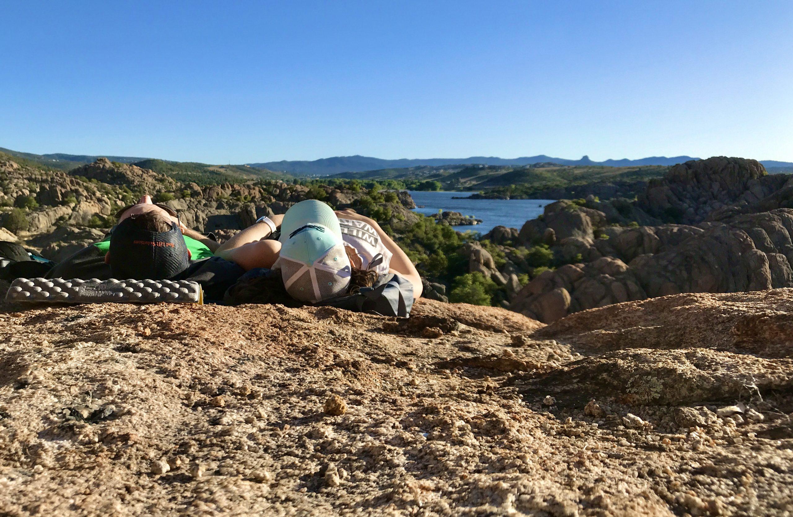 hiking watson lake prescott az trail naps