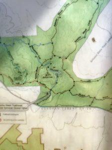Sidewinder trail hike snap of phoenix sonoran preserve map