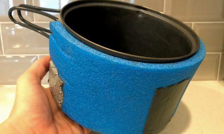 How Make a Closed Cell Foam Pot Cozy