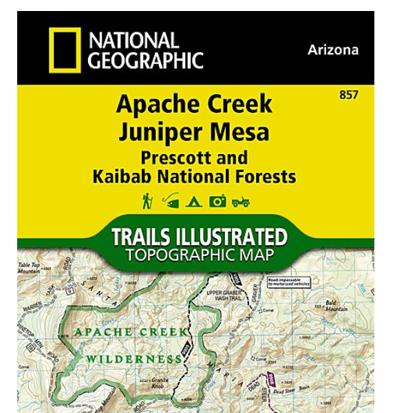 Nat geo 857 apache creek juniper mesa