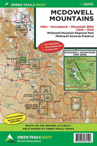 mcdowell mountains green trails map get outdoors get happy