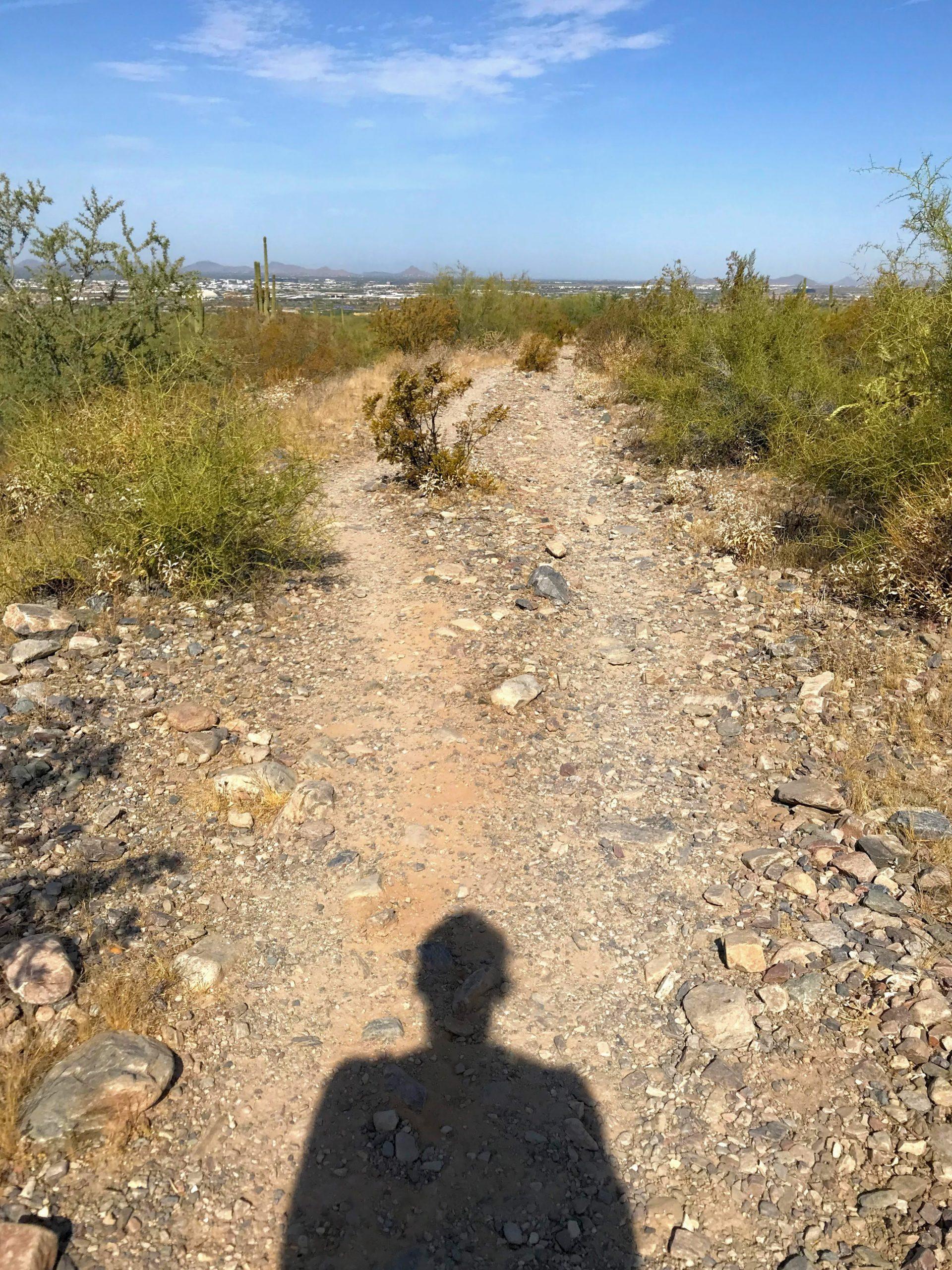 Levee Trail Hike Mcdowell Sonoran Preserve Levee Trail