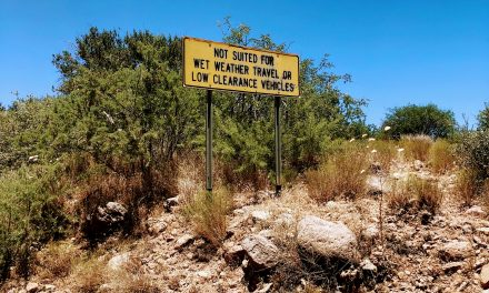 Bloody Basin Road Off-Road Drive, Tonto National Forest