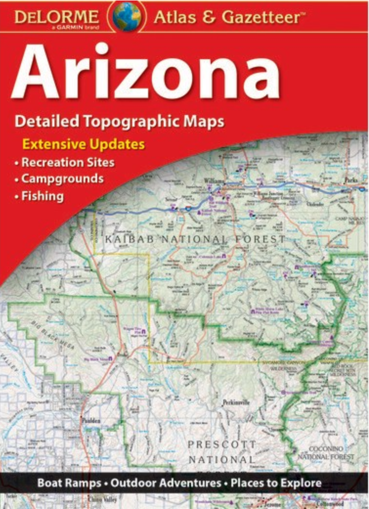 bloody basin road arizona road atlas thumbnail