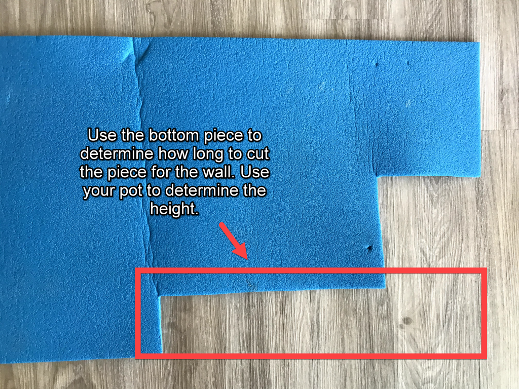 how to make a closed cell foam pot cozy cut the wall
