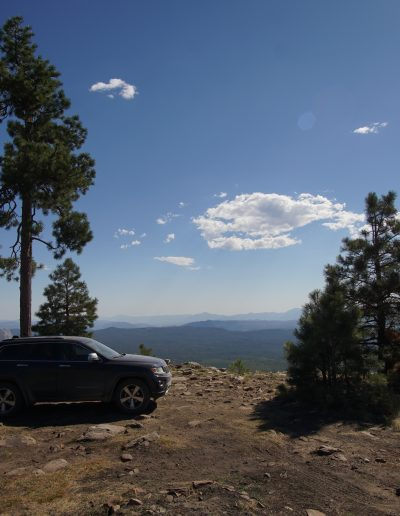 Dispersed Camping Fire Control Road (NF-64) Payson AZ Mogollon Rim views