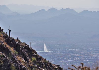 Hike to the Lookout: The Fountain Hills Fountain