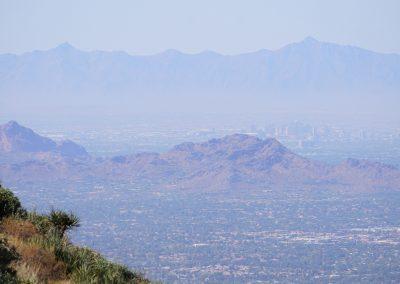 Hike to the Lookout: Downtown Phoenix from Tom's Thumb