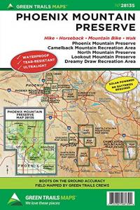 Green Trails Map Phoenix Mountain Preserve
