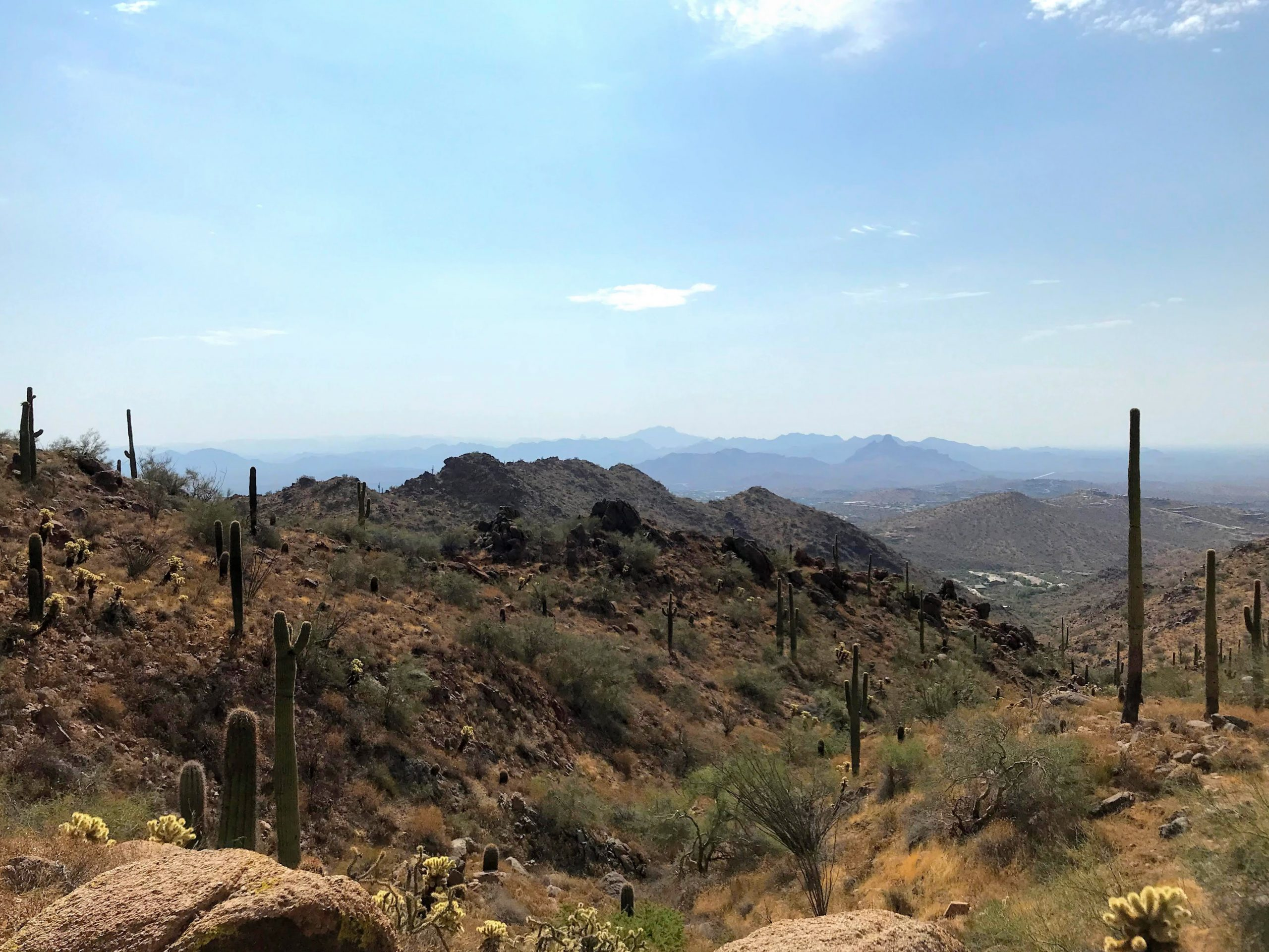 Sunrise Trail Hike fountain hills