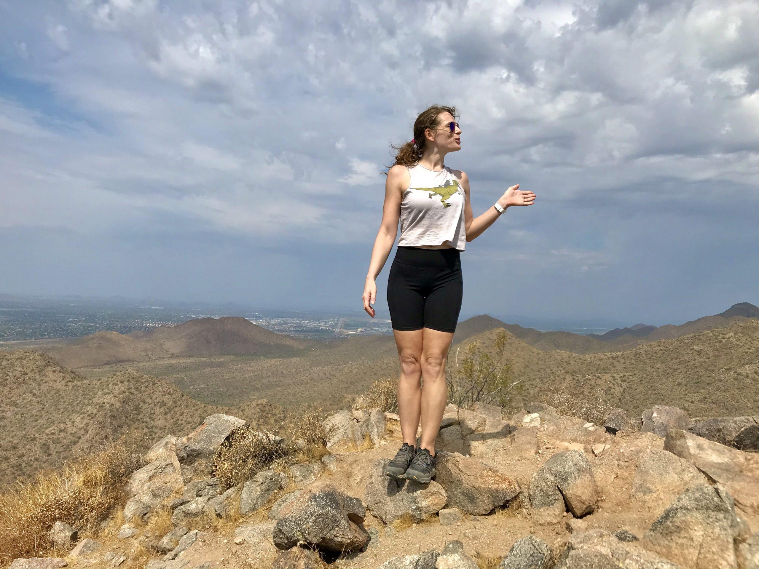 Sunrise Trail Hike tour guide