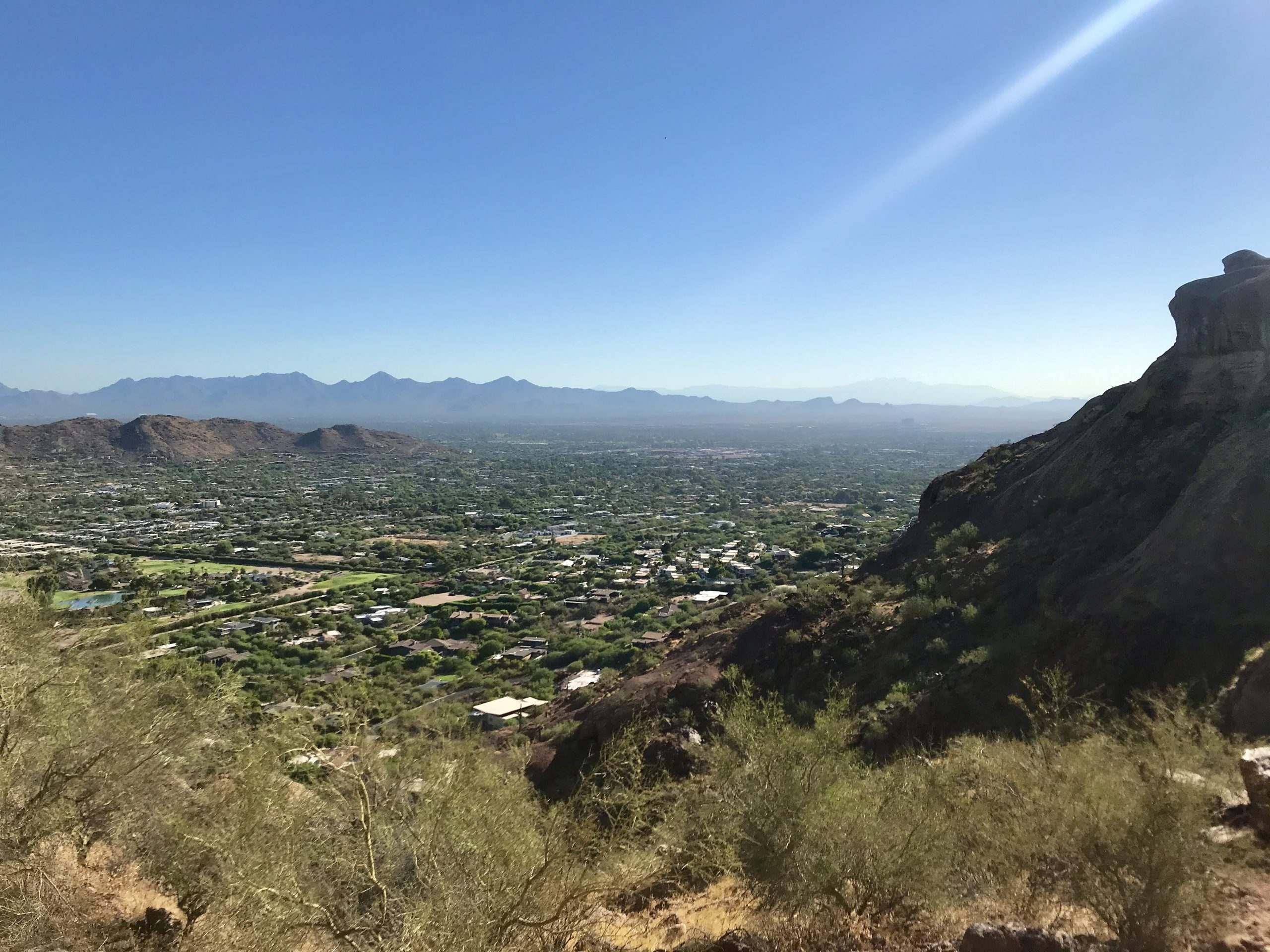 Piestewa vs Camelback? Which should you hike? City views