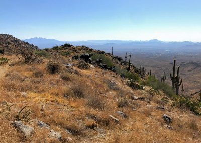 Hike to the Lookout: the Four Peaks